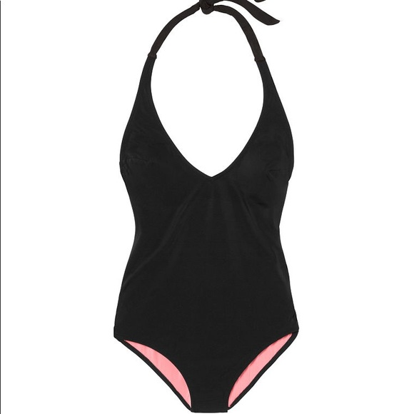 Victoria/'s Secret PINK Cut Out One Piece Black Swimsuit Small